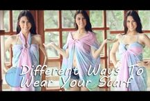Different ways to wear sarong
