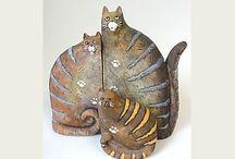 keramicke kočky