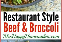 Beef / Recipes with beef / by Mrs Happy Homemaker®