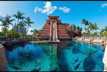 Atlantis Paradise Island Nassau Bahamas (Videos)