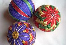 craft: japanese temari