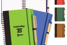 Promotional Journals / With a promotional journal, you can help your consumers get organized and keep your brand on their minds. Every time your customers jot a few things down, they'll most certainly remember the small difference that your brand is making in their everyday lives. / by Pinnacle Promotions