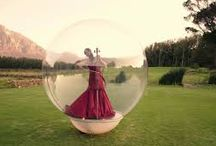 WOW A GIRL IN A BUBBLE