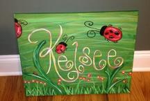 Canvas ideas  / by Freda Ammons