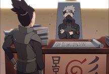 Naruto and kakashi♡