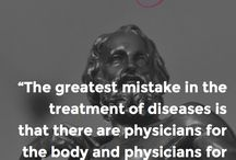 Medical Quotes / A collection of medical quotes throughout the ages.
