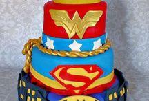 gateau super heros