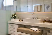 Idéias de Banheiros e Lavabos