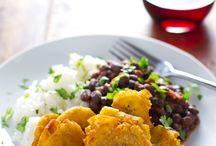 Fried plaintain recipes/tostones