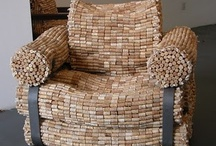 Crafts + Wine= Fun / Not sure what to do with those wine corks or empty wine bottles you have around the house? Here are some really neat ideas!!