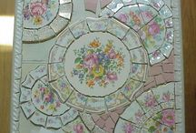 mosaics and broken china