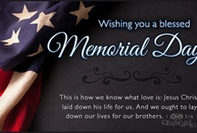 Memorial Day eCards / by Crosscards .
