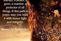 """Witches keepers of the Old Ways of Love for the Earth and all Her creatures, Magic, the Goddess, the Crone, Paganism. Ancient wisdom. / Witch sayings and quotes: """"Blessed are the Witches, for they are keepers of the Old Ways of Love for the Earth and all Her creatures""""."""