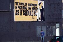 Street Art and graffiti / by Simon Potter