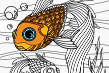 Sundries / Miscellaneous Stuff About Adult Coloring