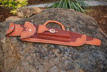 Leather work / by Chuck Clark