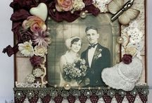 Pion Design / Vintage Images / Cards and projects created by Live and Love Crafts' Design Team Members, using papers from Pion Design and different vintage images.