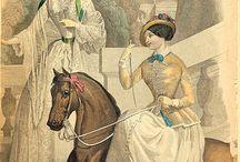 Fashion plates 1830-1870