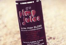 pump juice / by Tina Bolin