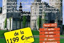 Anglia - Scotia - Irlanda / LONDRA – WINDSOR – STONEHENGE – SALISBURY – OXFORD – WARWICK – STRATFORD – MANCHESTER – LIVERPOOL – DUBLIN – BELFAST – GIANT'S CAUSEWAY – GLASGOW – EDINBURGH – LOCH NESS – YORK – LEEDS – CAMBRIDGE – LONDRA  Perioada recomandata: Martie – Octombrie  Ce sa luati in bagaj: haine calduroase, impermeabile, pantofi de munte, spray insecte  Ce sa cumparati: pulovere de aran, stofa de Donegal.  http://www.jinfotours.ro/detalii_whisky-tour.html