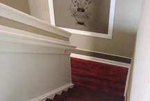 Stairway ideas / by Shelly