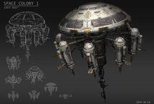 Spacecraft - Spacestations