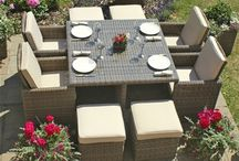 Maze Rattan Winchester Garden Furniture / Maze Rattan Winchester is a range of natural looking woven garden furniture, hand crafted from synthetic all weather rattan.