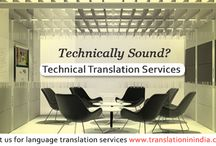 Technical Translation / Technical Translation Services India. We  offer quality technical translation services,translation in India provides Technical translation services.