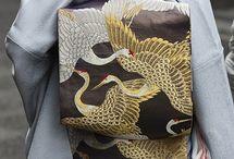 Kimono and Obi patterns