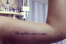 Tattoos / by Gaby Carvajal