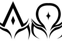 Alpha / Omega Tattoo