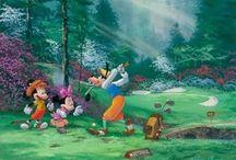 James Coleman e seus desenhos da Disney