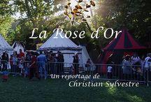 Fête médiévale La Rose d'Or (2015) / Affiche reportage Fête médiévale La Rose d'Or.