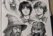 the hobbit sketches