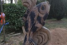 woodcarving sculptures / Chainsaw sculpting