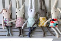 sew : softies / by Cathy Pacheco