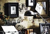 room / strange, gothic, vintage