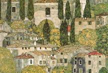 Paintings - Lake Garda