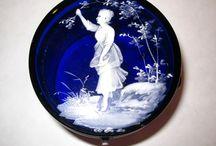 """Cobalt Blue Glass"" ....:-) / by Connie Carsten Severe ~Dragonjade~"