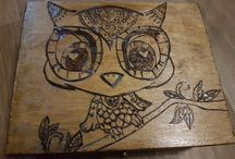My Pyrography Creations