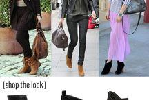 Outfit con botines y botas