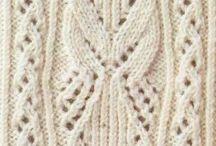 háčkované a pletené vzory 2