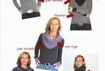 Kragen für Pullover