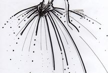 drawing - fashion