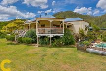 Home For Sale: Mount Kilcoy / This Garth Chapman, Queenslander, designed and built, is a three bedroom home, looking over 205 acre's of beautiful farm and bush land, and is located only fifteen minutes from Kilcoy and forty minutes from Caboolture.
