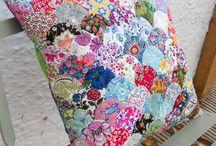 patchwork vankúše