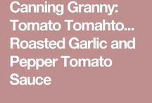 Canned Tomatoes (sauces etc.)