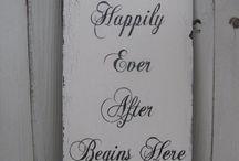 wedding ideas / by Charlotte Nilsson Memmott