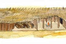 Viking houses and Stavechurches