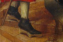 Středověk-řemeslo (boty)